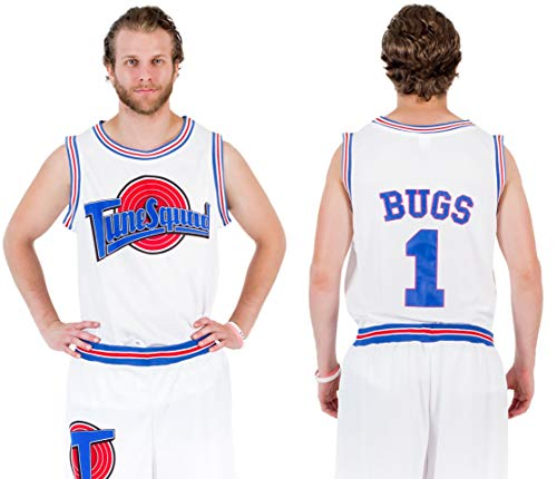 Space Jam Tune Squad Basketball Jersey (XXX-Large, Bugs Bunny) -