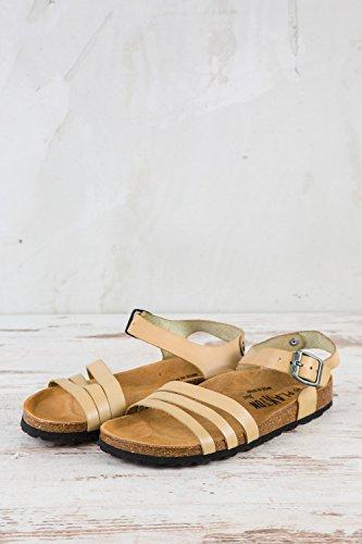 para 069 Beige PL1 de Piel Zapatos Lisa Beige PLAKTON Cordones Mujer EU 37 de 8TwFq