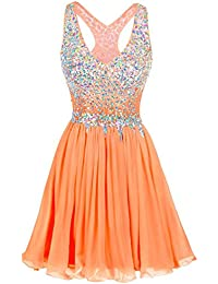 Amazon.com: Oranges - Prom & Homecoming / Dresses: Clothing, Shoes ...