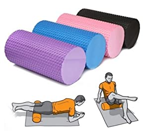 Pink,EVA Yoga Blocks Exercise Fitness Foam Roller Massage Floating Point Relaxing by SiamsShop