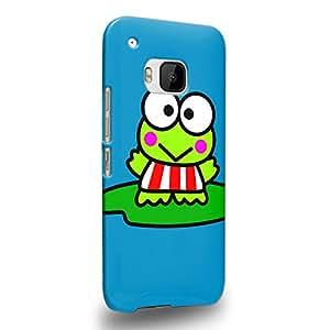 Case88 Premium Designs Kero Kero Keroppi Collection 1339 Carcasa/Funda dura para el HTC One M9