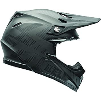 BELL Moto-9 Carbono Flex síndrome Casco de Motocross: Amazon.es: Coche y moto
