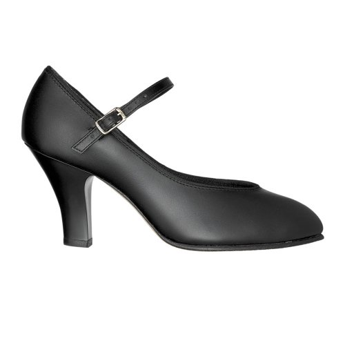 Chaussures de caractère Capezio 656 Theatrical Footlight - Noir - taille 35.5