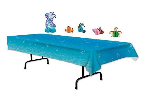 Undersea Mermaid Party Tabletop Decorations by Mermaid Party