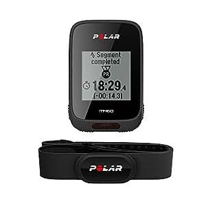 Polar M460 GPS Bike Computer With Heart Rate Sensor - Black