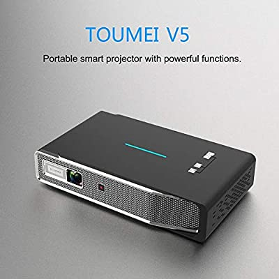 TOUMEI V5 3800 Lúmenes Mini Portátil 3D 4K Full HD DLP Pocket ...