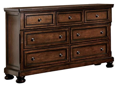 (Homelegance Cumberland Seven-Drawer Dresser, Cherry)
