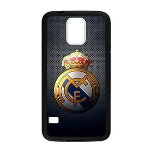 KOKOJIA Fashion Real Madrid Club Custom Case for Samsung Galaxy S5 (Laser Technology)
