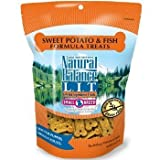 Natural Balance L.I.T. Limited Ingredient Small Breed Dog Treats 8 oz. 1 1/8'' Length Sweet Potato & Fish Grain-Free (pack of 2)