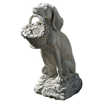 Design Toscano Man's Best Friend Dog (Resin Garden Sculptures)