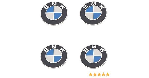 BMW rueda tapacubos emblema 70 mm BBS (Juego de 4) OEM marca nueva garantía de seguridad