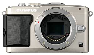 Olympus E-PL5 16MP Mirrorless Digital Camera with 3-Inch LCD, Body Only (Silver)