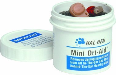Hal-Hen ® Mini Dri-Aid TM Kit - Canister and Jar - Single Jar (Hearing Aid Dri)