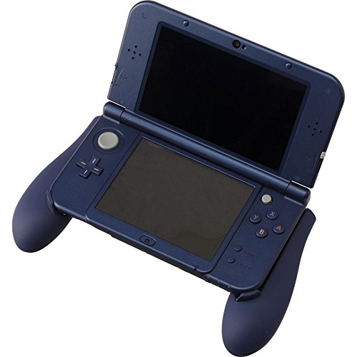 cyber gadget rubber coating grip 2 navy for nintendo new