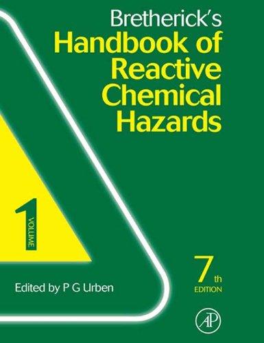Bretherick's Handbook of Reactive Chemical Hazards: 2-Volume Set Pdf
