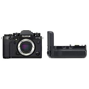 Fujifilm X-T3 Mirrorless Digital Camera - Black + Fujifilm VG-XT3 Vertical Grip