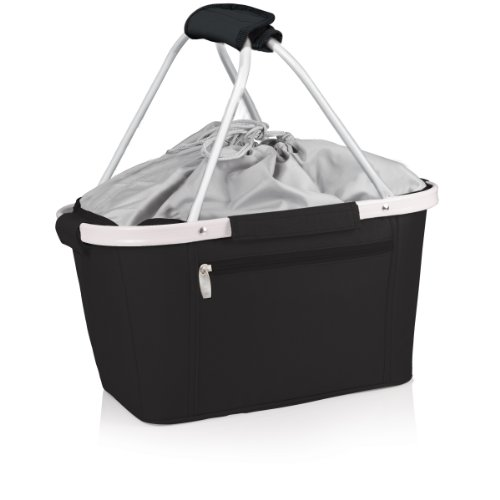 ONIVA - a Picnic Time Brand Metro Insulated Basket, Black
