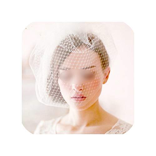 (Wedding Accessories Veil Bridal Birdcage Wedding Veils Short Bridal Accesories BC0001,Black)