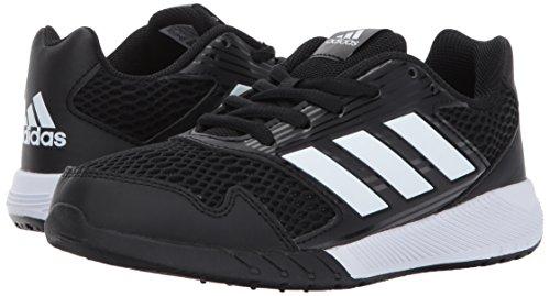 adidas Performance Boys' Altarun K Running Shoe, Black/White/Black, 2.5 Medium US Little Kid by adidas (Image #6)