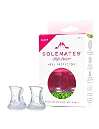 Solemates Heel Protectors – High Heel Stoppers Perfect for Any Wedding or Event Protecting Heels from Grass, Gravel, Bricks, and Cracks