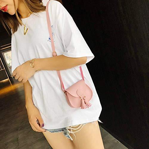 Bag Widewing Messenger Handbag Bags Women Retro Mini Women Tassel Shoulder Messenger Shoulder Pink Bags Cute Clutch nTCrnSq