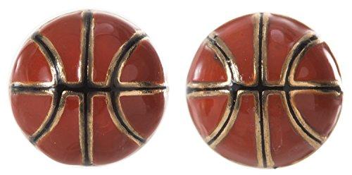 Artisan Owl - Basketball Stud Earrings (Basketball Owls)