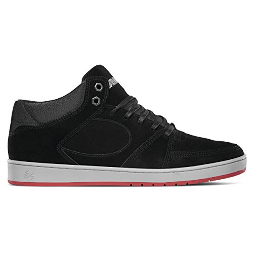 Es Skateboard Sko Accel Slank Midten X Vasse Sorte X Vasse Svart