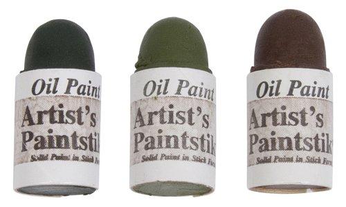 Jack Richeson Shiva Oil Paintstik, Earthtone Colors, Set of (Earthtone Paint)