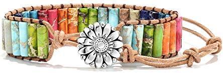 Friendship Bracelets Handmade Adjustable Sunflower