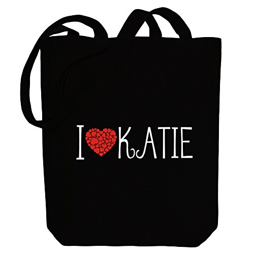 Female Bag Canvas Tote I cool Katie love Names style Idakoos wZXq74z
