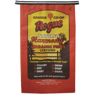 Rogue Nature's Harmony Organic 40OSFL Soy-Free Layer 16% Feed 40 lb by Rogue
