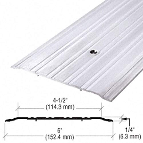 6'' Aluminum Commercial Saddle Threshold - 73'' Length by CR Laurence (Image #2)