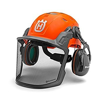Husqvarna Technical Forest Helmet with Ratchet 588646001 by Husqvarna (Image #1)