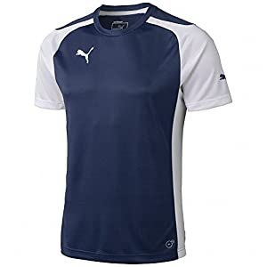 Puma Men's Speed Jersey, Small, New Navy-White