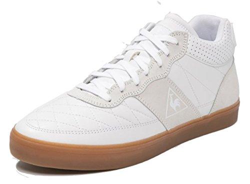 Troca Paniers Coq Lea Sportif Gomme Le WH Blanc Optique Mid OvXqn7vwP