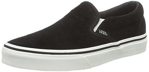 Vans Chaussures De Sport Pour Y Glisser Sur, Erwachsene-mixte Classique Schwarz (porc / Noir Blanc)