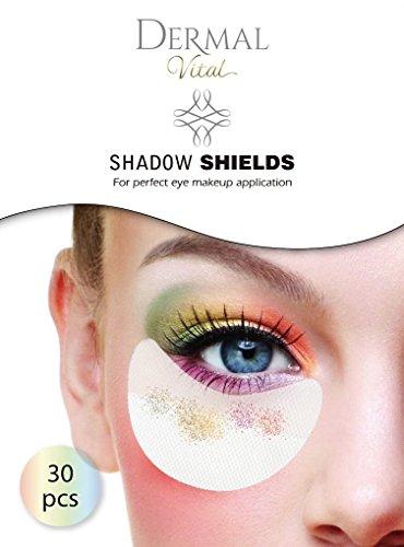 Shadow Shields 60 Stück Abdeckungen für Augen und Lippen eye make up von Dermal Vital
