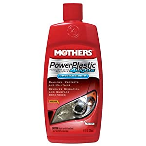 Mothers 08808 PowerPlastic 4Lights - 8 oz.