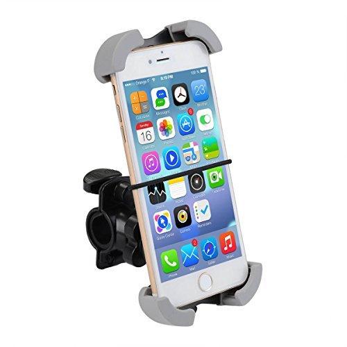 Verstellbare Halterung Handyhalterung Fahrradzubehör Deallink Universal Fahrrad Handyhalter drehbaren Smartphone Halter für iPhone Samsung