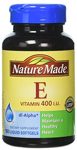 Nature Made Vitamin E 400 Iu 180 Liquid Softgels