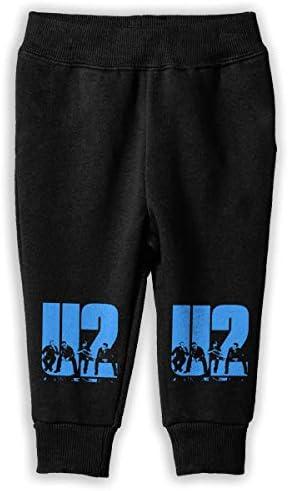 U2 Band ロングパンツ スウェットパンツ 男の子 女の子 キッズ 日常 通学 快適 吸汗速乾 伸縮性 通気 耐久 春秋 肌触りよく 柔らかい 下着 卒業式