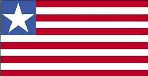Annin Flagmakers 4pies x 6pies. Bandera de Liberia para desfiles y pantalla con flecos