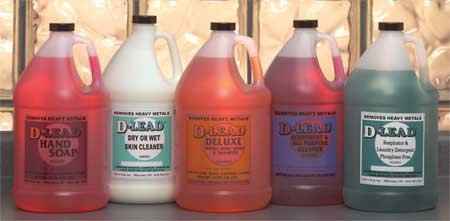 D-LEAD 1 gal. Almond Shampoo and Body Wash Refill