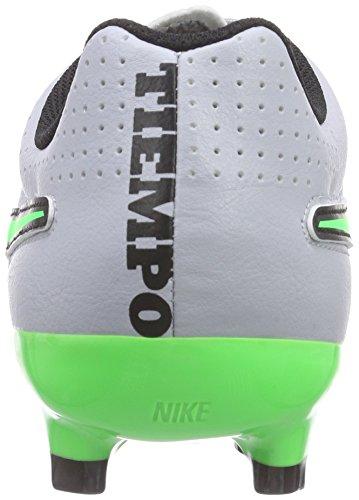 Eu Tiempo Verdi bianche Uomo Allenamento 40 Bianche Running Nike 6 Leather Scarpe Uk Genio Fg Da wCZqqS