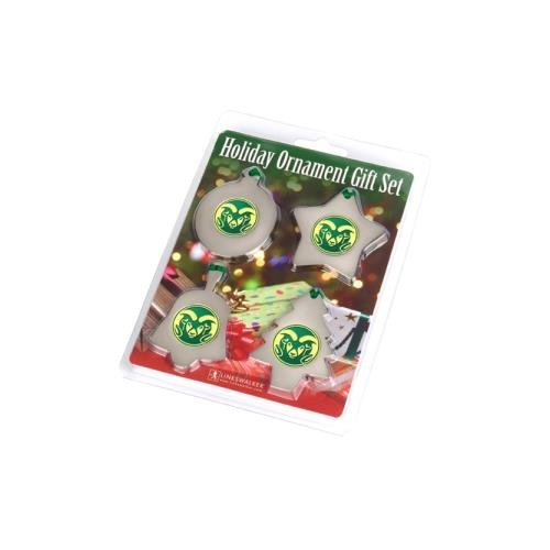 LinksWalker Colorado State Rams NCAA Ornament Gift Pack by LinksWalker