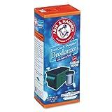 Arm & Hammer 3320084116 Trash Can & Dumpster Deodorizer, Sprinkle Top, Original, Powder, 42.6oz