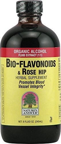 Nature's Answer Bio Flavonoids and Rose Hips with Organic Alcohol, 8 Fluid Ounces