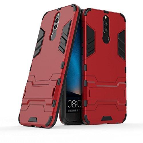 Funda para Huawei Mate 10 Lite/Nova 2i / Honor 9i (5,9 Pulgadas) 2 en 1 Híbrida Rugged Armor Case Choque Absorción...