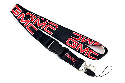 Brand New GMC Lanyard Neck Cell Phone Key Chain Strap Quick Release