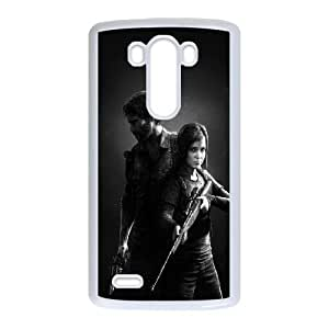LG G3 Cell Phone Case White Last Of Us Duo SUX_964544